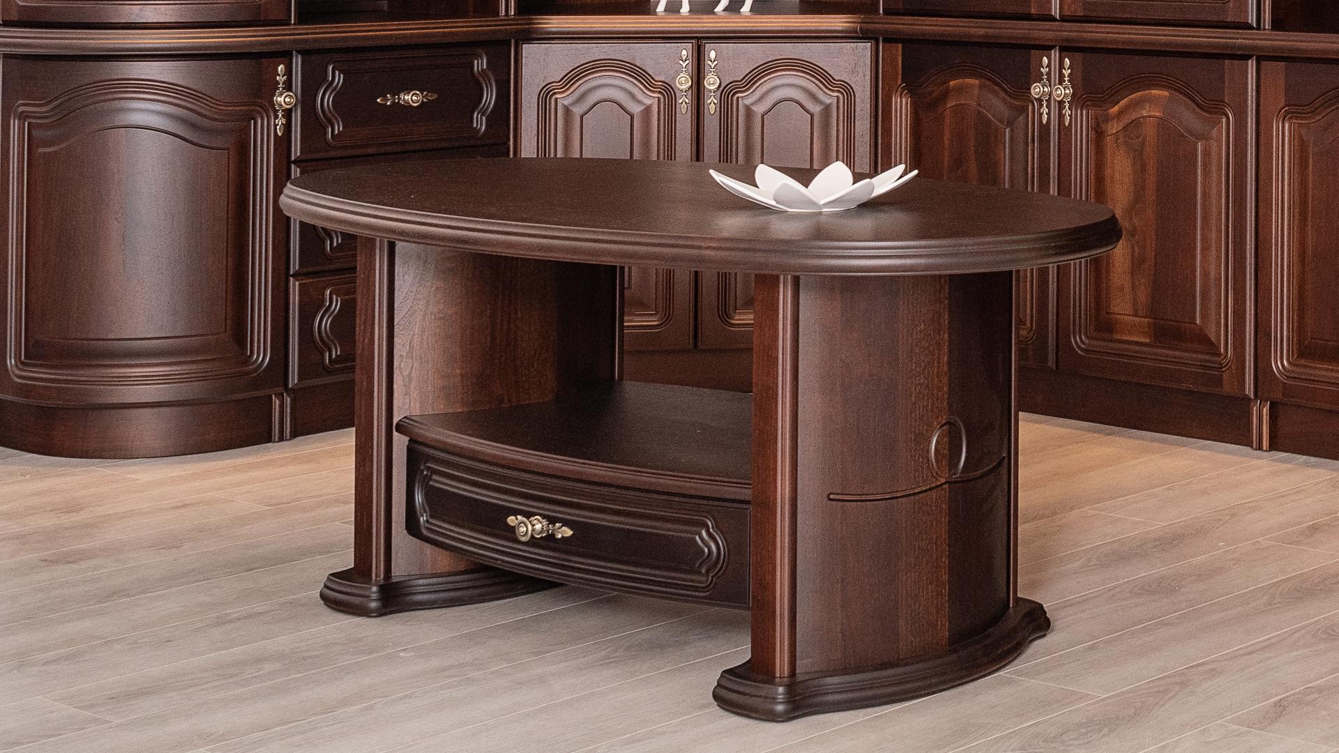 Tömörfa dohányzóasztal – A nappali éke