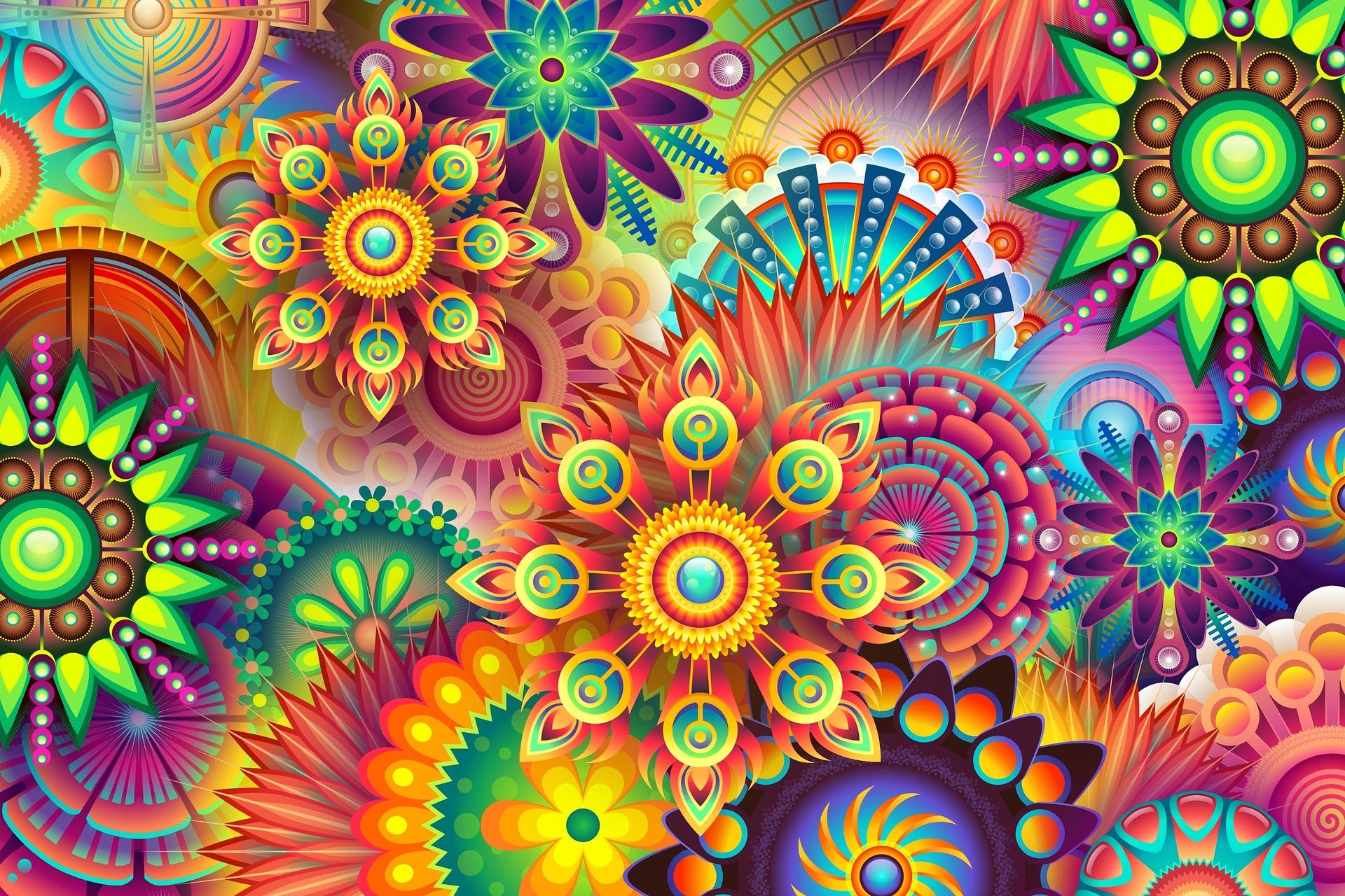 a színek élettani hatásai otthonunkra - a kép illusztráció