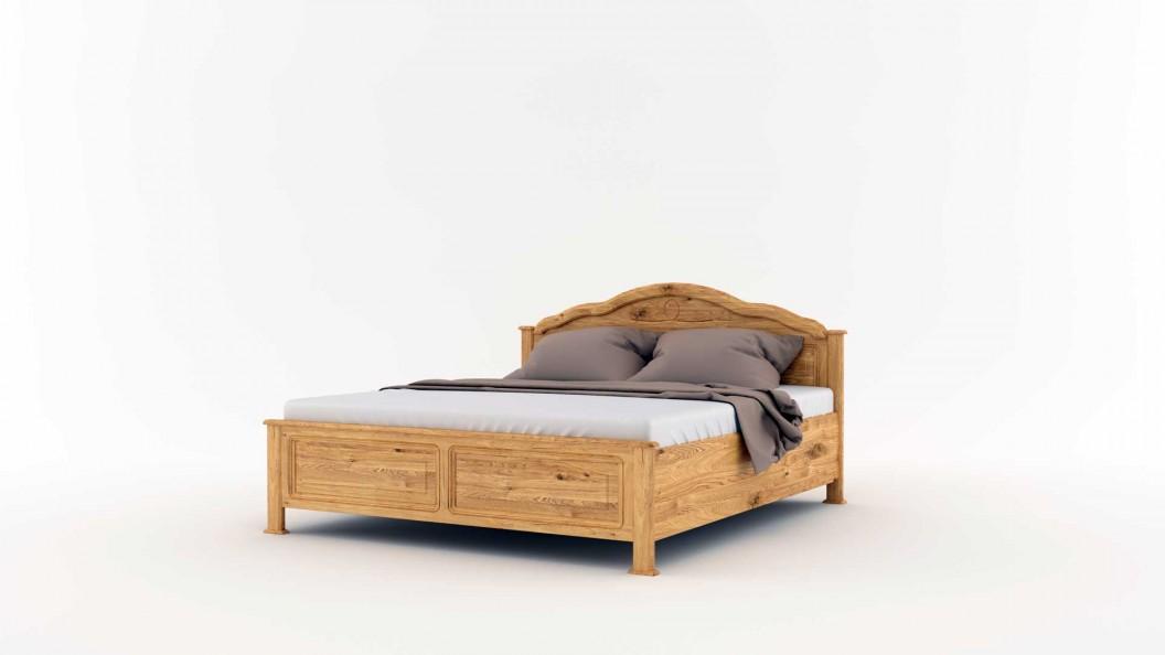 Vad tölgyfa ágyneműtartós ágy tömörfából