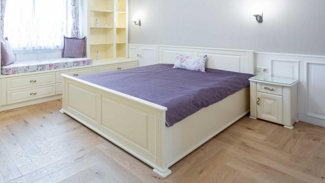 Fehér egyedi ágy