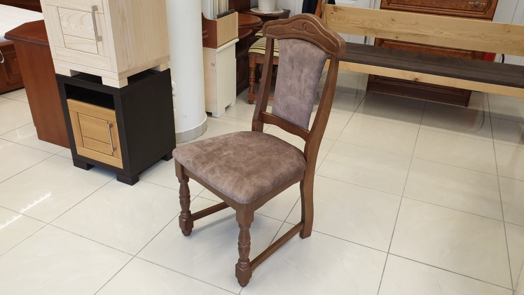 Family klasszikus/rusztikus tömörfa szék