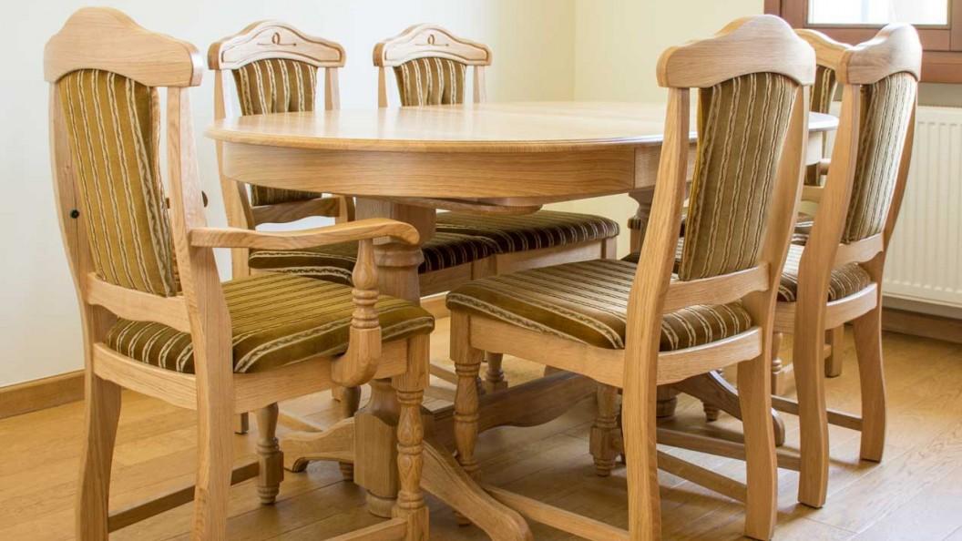 Family natúr tömörfa székek