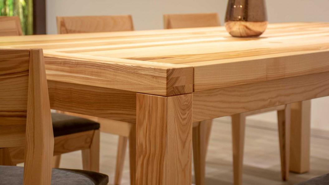 Flow kőrisfa étkezőasztal