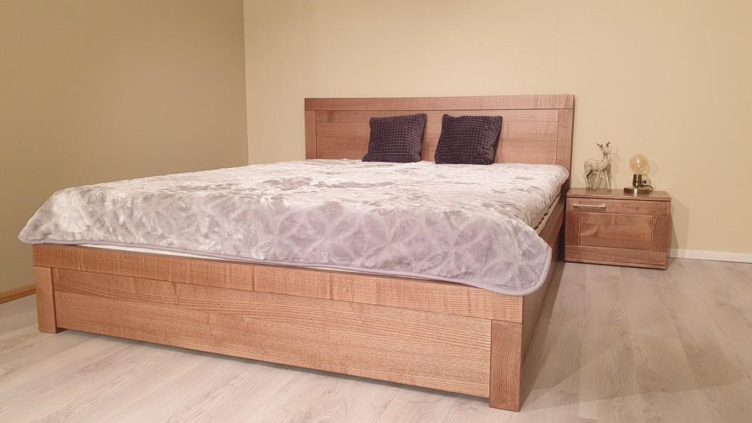 Nova tömörfa ágy körte színben