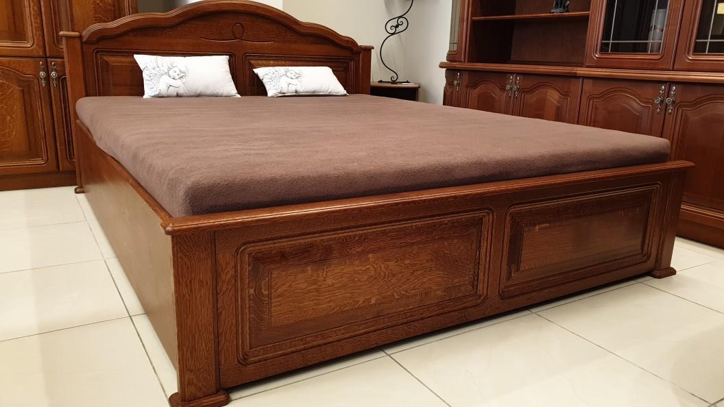 Tömörfa ágy tölgyfából