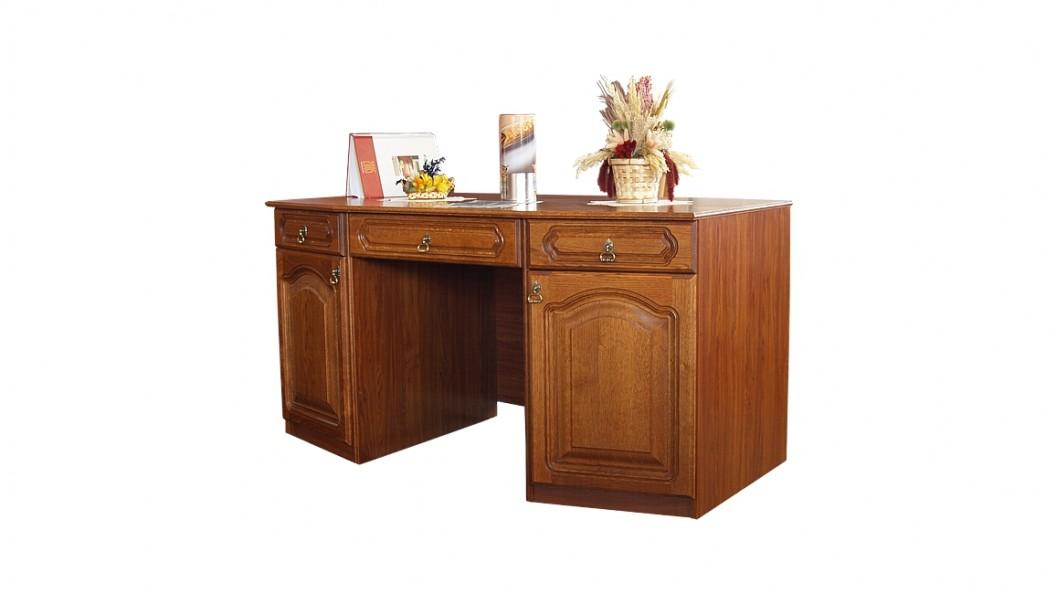 Dani tömörfa tölgyfa íróasztal